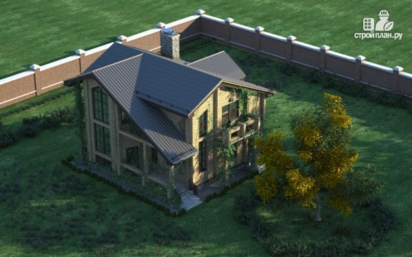 Фото 7: проект загородный дом с двухсветным эркером