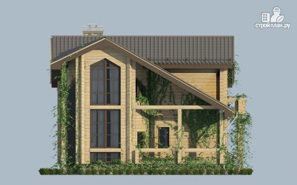 Фото 4: проект загородный дом с двухсветным эркером