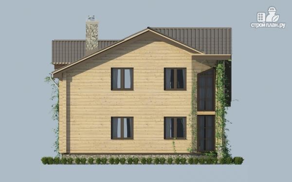 Фото 6: проект загородный дом с двухсветным эркером