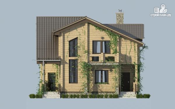 Фото 5: проект загородный дом с двухсветным эркером
