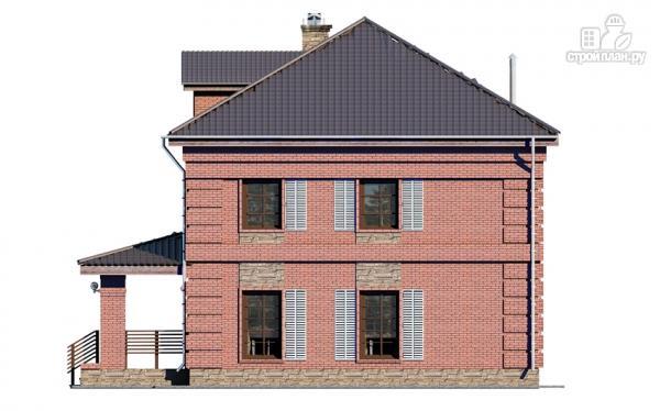 Фото 5: проект двухтажный дом с террасой
