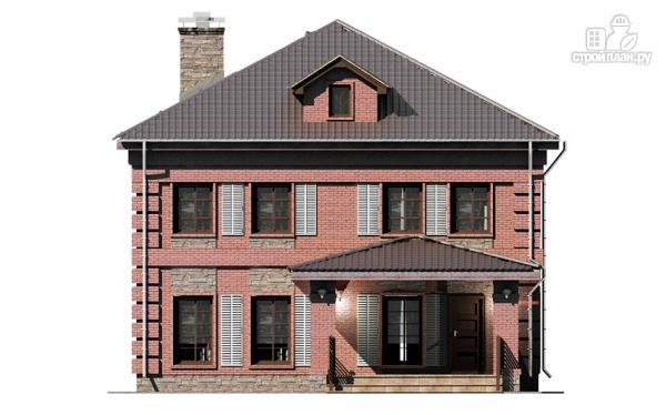 Фото 8: проект двухтажный дом с террасой