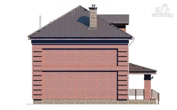 Фото 7: проект двухтажный дом с террасой