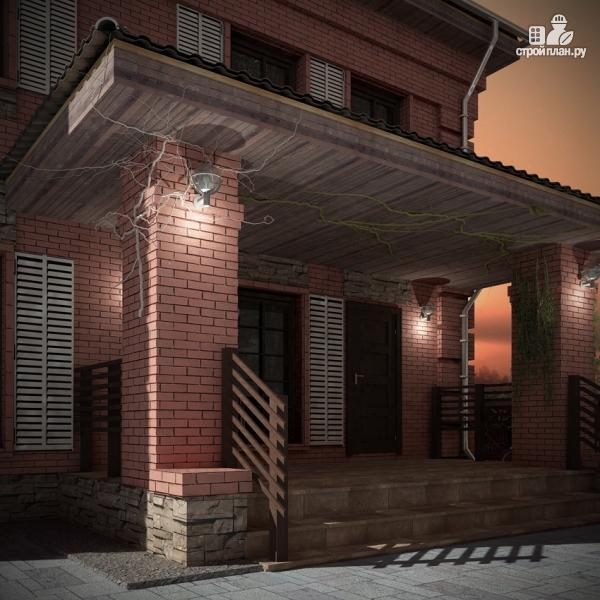 Фото 9: проект двухтажный дом с террасой