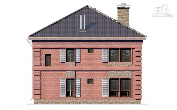 Фото 4: проект двухтажный дом с террасой