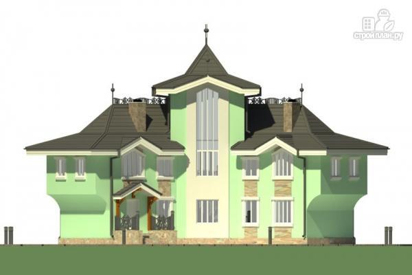Фото 4: проект загородная резиденция с большой террасой
