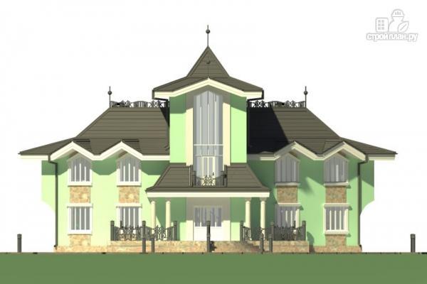 Фото 7: проект загородная резиденция с большой террасой
