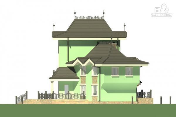 Фото 6: проект загородная резиденция с большой террасой