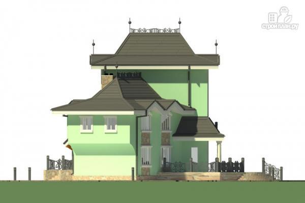 Фото 5: проект загородная резиденция с большой террасой
