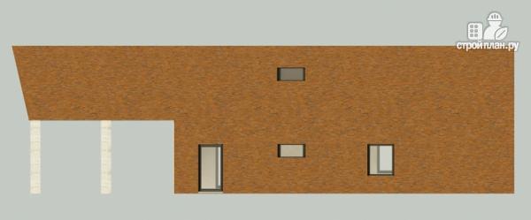 Фото 4: проект дом в современном стиле с террасой и лоджией