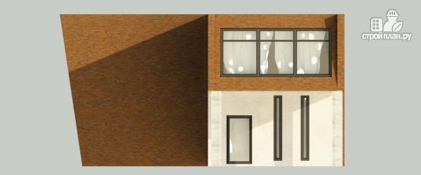 Фото 5: проект дом в современном стиле с террасой и лоджией