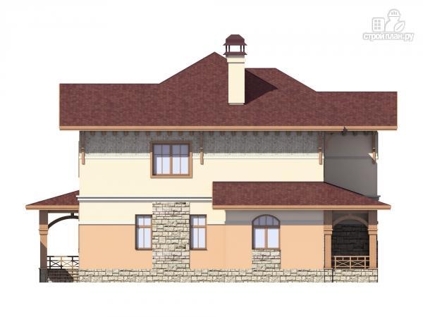 Фото 5: проект двухэтажный дом из газобетона с террасой