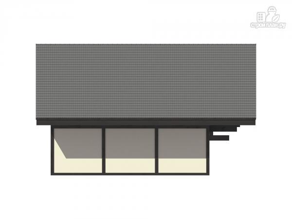Фото 7: проект каркасный дом с балконом