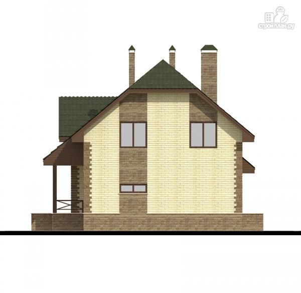 Фото 6: проект дом с террасой и гаражом