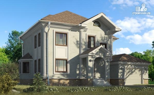 Фото: проект двухэтажный дом с гаражом