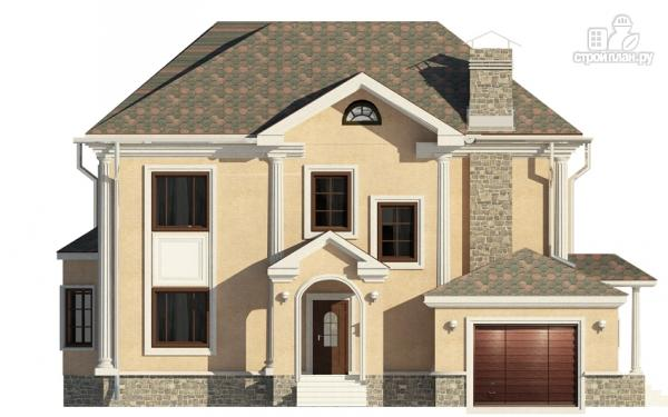 Фото 4: проект двухэтажный дом с гаражом