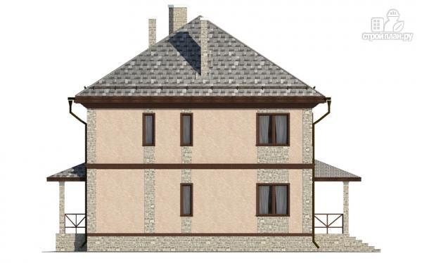 Фото 6: проект двухэтажный дом с застеклённой лоджией