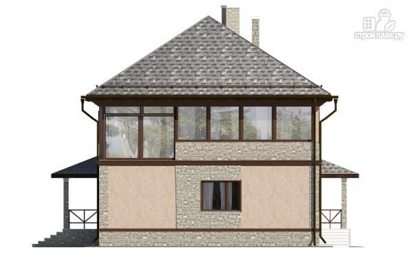 Фото 5: проект двухэтажный дом с застеклённой лоджией
