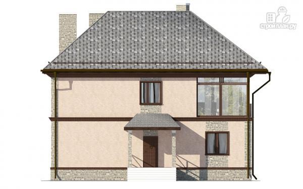 Фото 7: проект двухэтажный дом с застеклённой лоджией
