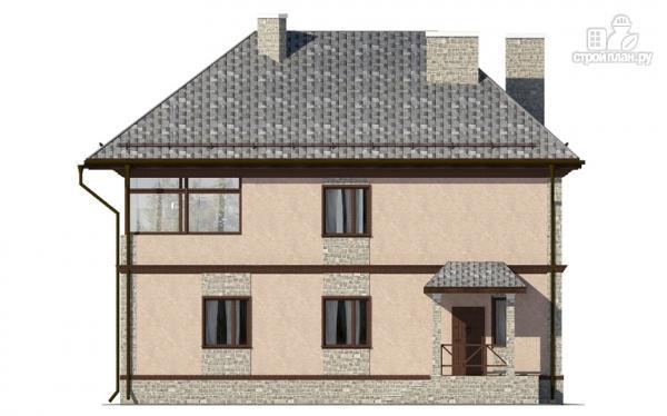 Фото 4: проект двухэтажный дом с застеклённой лоджией