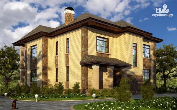 Фото: проект двухэтажный дом для большой семьи