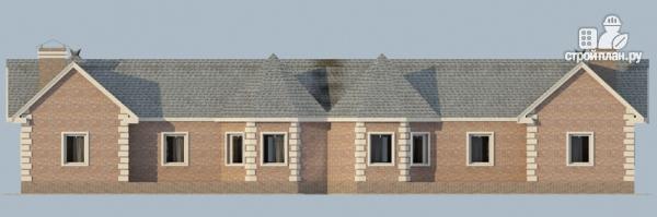 Фото 4: проект одноэтажный спаренный дом