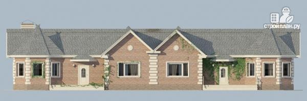 Фото 3: проект одноэтажный спаренный дом