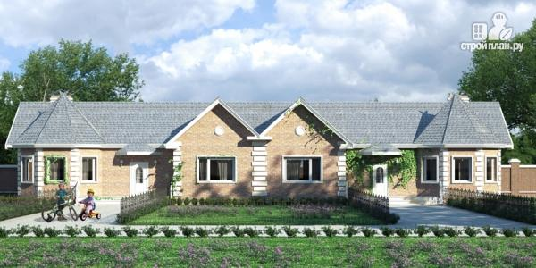 Фото: проект одноэтажный спаренный дом