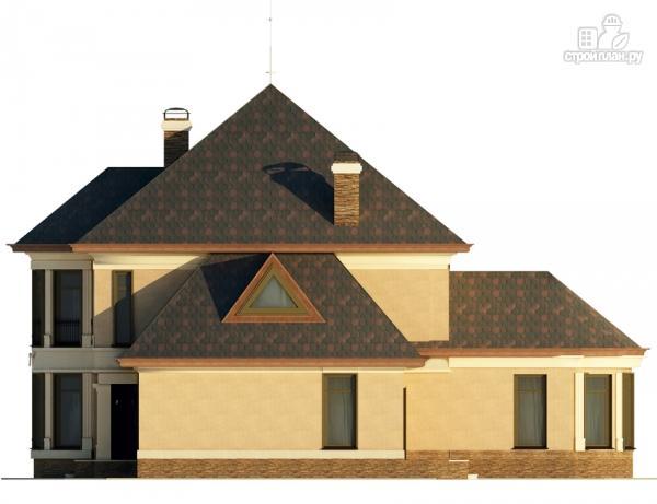 Фото 5: проект двухэтажный дом с террасой и эркерами