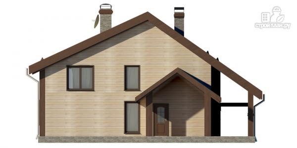 Фото 4: проект дом на семь спален с террасой