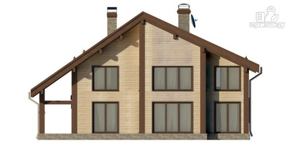 Фото 7: проект дом на семь спален с террасой