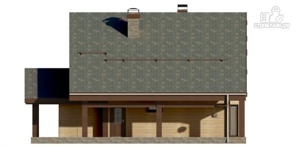 Фото 6: проект дом на семь спален с террасой
