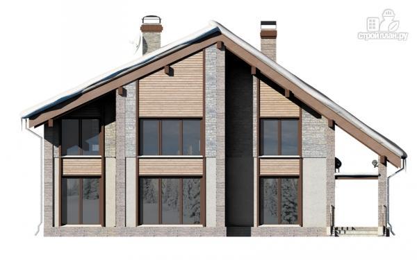 Фото 8: проект полутораэтажный дом с террасой