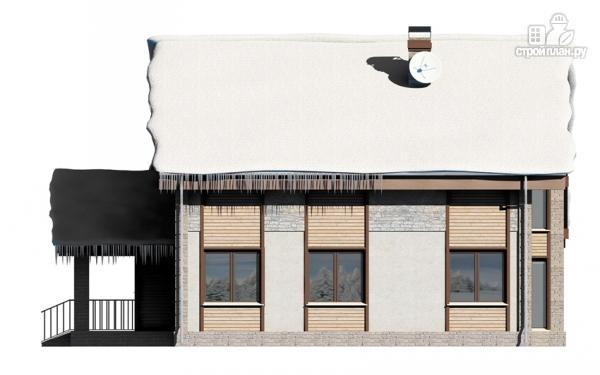 Фото 7: проект полутораэтажный дом с террасой
