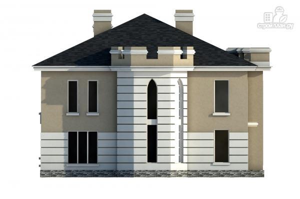 Фото 5: проект дом из газобетона со вторым светом в гостинной