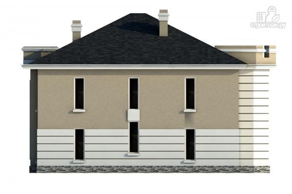 Фото 6: проект дом из газобетона со вторым светом в гостинной