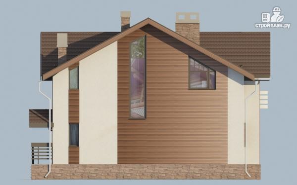 Фото 6: проект дом в полтора этажа с камином