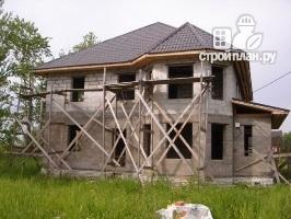 Фото 4: проект двухэтажный дом из газобетона с эркером