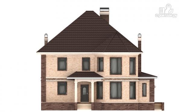 Фото 8: проект двухэтажный дом из газобетона с эркером