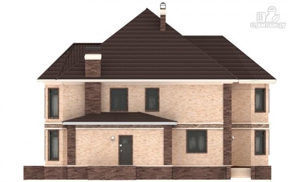 Фото 6: проект двухэтажный дом из газобетона с эркером