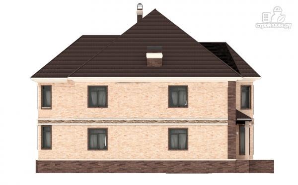 Фото 7: проект двухэтажный дом из газобетона с эркером