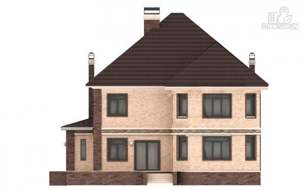 Фото 5: проект двухэтажный дом из газобетона с эркером