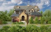Фото: дом с гаражом
