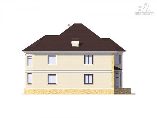 Фото 7: проект двухэтажный дом из газобетона с камином