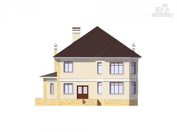 Фото 5: проект двухэтажный дом из газобетона с камином