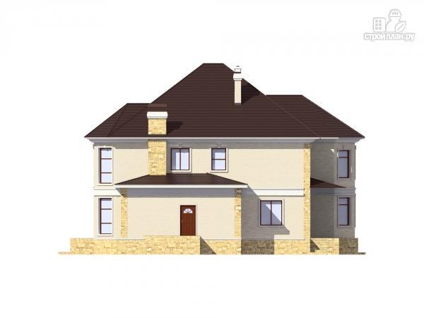 Фото 6: проект двухэтажный дом из газобетона с камином