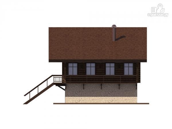 Фото 6: проект трехэтажный комбинированный дом с сауной и бассейном