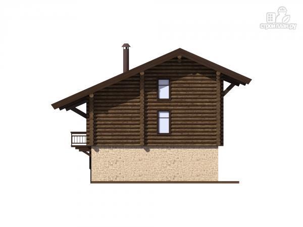 Фото 7: проект трехэтажный комбинированный дом с сауной и бассейном