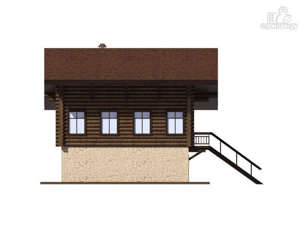Фото 8: проект трехэтажный комбинированный дом с сауной и бассейном