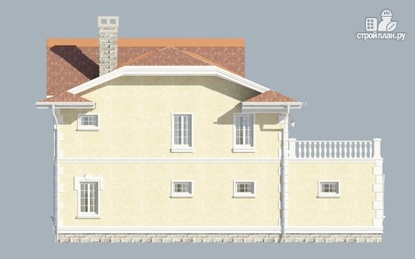 Фото 7: проект загородный особняк с террасами на втором этаже